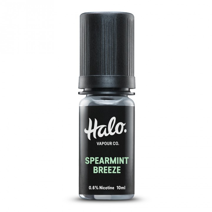 HALO Spearmint Breeze E-Liquid 10ml £3 95 4 for £9 96