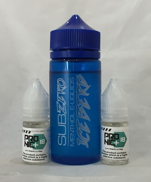 SubZero Iceberg Menthol E Liquid 120ml