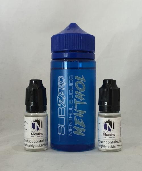SubZero Menthol E Liquid 120ml